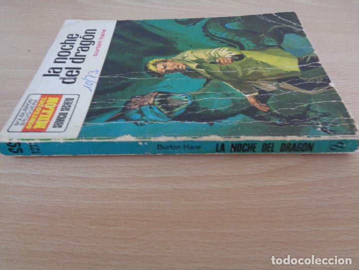 Cómics: Servicio Secreto Nº 1211. La noche del dragón. Burton Hare. Bruguera 1973 - Foto 3 - 207324831