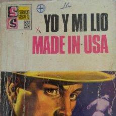 Cómics: SERVICIO SECRETO Nº 1000. YO Y MI LIO MADE IN USA. SILVER KANE. BRUGUERA 1969. Lote 207324966