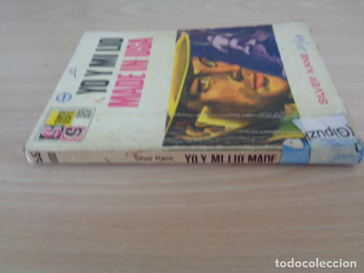 Cómics: Servicio Secreto Nº 1000. Yo y mi lio made in USA. Silver Kane. Bruguera 1969 - Foto 3 - 207324966