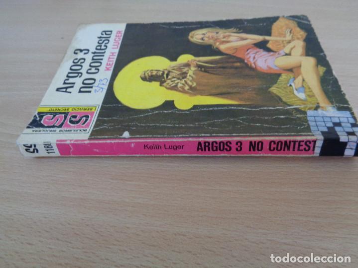 Cómics: Servicio Secreto Nº 1180. Argos 3 no contesta. Keith Luger. Bruguera 1973 - Foto 3 - 207325312