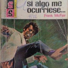 Cómics: SERVICIO SECRETO Nº 1132. SI ALGO ME OCURRIESE. FRANK MCFAIR. BRUGUERA 1972. Lote 207325445