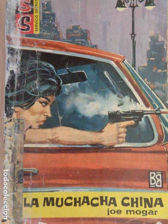 SERVICIO SECRETO Nº 644.LA MUCHACHA CHINA. JOE MOGAR. BRUGUERA 1962 (Tebeos, Comics y Pulp - Pulp)