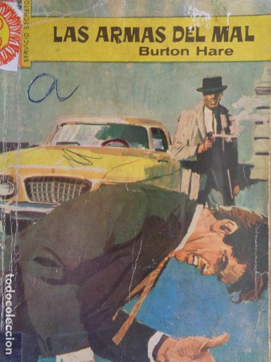 SERVICIO SECRETO Nº 750. LAS ARMAS DEL MAL. BURTON HARE. BRUGUERA 1964 (Tebeos, Comics y Pulp - Pulp)