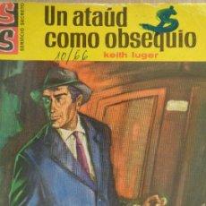 Cómics: SERVICIO SECRETO Nº 847. UN ATAÚD COMO OBSEQUIO. KEITH LUGER. BRUGUERA 1966. Lote 207328155