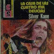 Comics : SERVICIO SECRETO Nº 1484. LA CASA DE LAS CUATRO MIL DELICIAS. SILVER KANE. BRUGUERA 1979. Lote 207328286