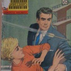 Cómics: SELECCIONES SERVICIO SECRETO Nº 13. LAS DAMAS MATAN RIENDO. PETER DEBRY. BRUGUERA 1962. Lote 207328468