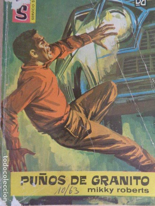 SERVICIO SECRETO Nº 687. PUÑOS DE GRANITO. MIKKY ROBERTS. BRUGUERA 1967 (Tebeos, Comics y Pulp - Pulp)