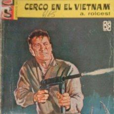 Cómics: SERVICIO SECRETO Nº 774. CERCO EN EL VIETNAM. A. ROLCEST. BRUGUERA 1965. Lote 207328875
