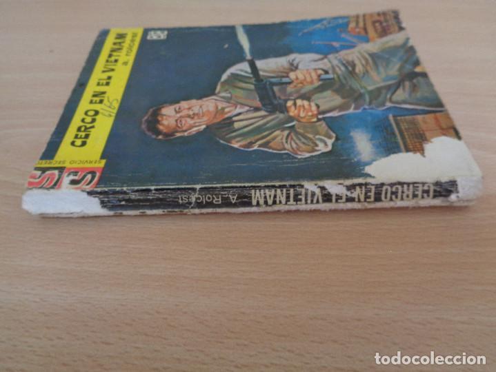 Cómics: Servicio Secreto Nº 774. Cerco en el Vietnam. A. Rolcest. Bruguera 1965 - Foto 3 - 207328875
