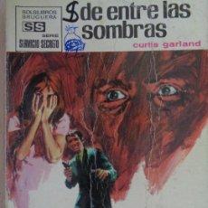 Cómics: SERVICIO SECRETO Nº 1074.DE ENTRE LAS SOMBRAS. CURTIS GARLAND. BRUGUERA 1971. Lote 207400403