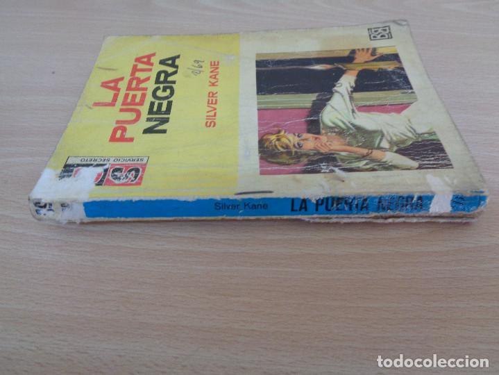 Cómics: Servicio Secreto Nº 966. La puerta negra. Silver Kane. Bruguera 1969 - Foto 3 - 207400758