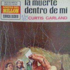 Cómics: SERVICIO SECRETO Nº 1203. LA MUERTE DENTRO DE MÍ. CURTIS GARLAND. BRUGUERA 1973. Lote 207400910