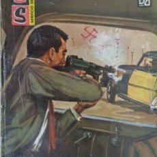 Cómics: SERVICIO SECRETO Nº 722 LA MUERTE VIAJA EN TAXI. GEORGE H. WHITE. BRUGUERA 1964. Lote 207401132