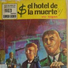Cómics: SERVICIO SECRETO Nº 1017. EL HOTEL DE LA MUERTE. VIC LOGAN. BRUGUERA. Lote 207402081