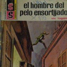 Cómics: SERVICIO SECRETO Nº 1177. EL HOMBRE DEL PELO ENSORTIJADO. VIC LOGAN. BRUGUERA 1972. Lote 207402168