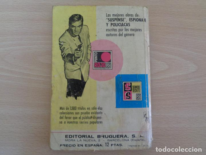 Cómics: Servicio Secreto Nº 1177. El hombre del pelo ensortijado. Vic Logan. Bruguera 1972 - Foto 2 - 207402168