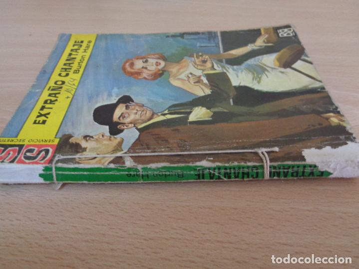 Cómics: Servicio Secreto Nº 740. Extraño chantaje. Burton Hare. Bruguera 1964 - Foto 3 - 207402286