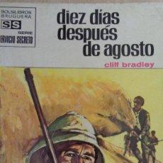 Cómics: SERVICIO SECRETO Nº 1070. DIEZ DÍAS DESPUÉS DE AGOSTO. CLIFF BRADLEY. BRUGUERA 1971. Lote 207402435