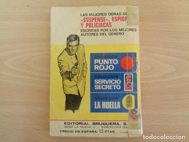 Cómics: Servicio Secreto Nº 1248. El hombre que compró terror. Vic Logan. Bruguera 1974 - Foto 2 - 207402550