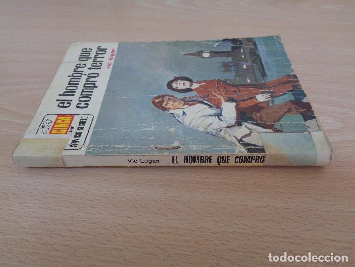 Cómics: Servicio Secreto Nº 1248. El hombre que compró terror. Vic Logan. Bruguera 1974 - Foto 3 - 207402550