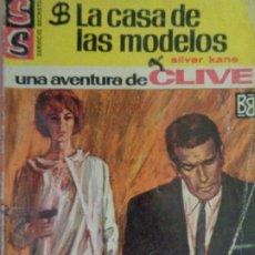 Comics : SERVICIO SECRETO Nº 841. LA CASA DE LAS MODELOS. UNA AVENTURA DE CLIVE. SILVER KANE. BRUGUERA 1966. Lote 207402703