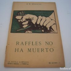 Fumetti: RAFFLES NO HA MUERTO. Lote 207642705