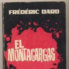 Comics: COLECCIÓN HURÓN Nº 1. EL MONTACARGAS POR FREDERIC DARD. TORAY 1963. Lote 207746495