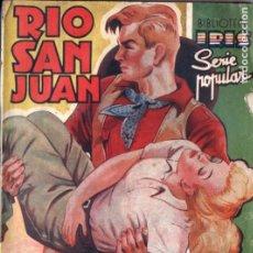 Cómics: F. DE LUCAS GILABERT . RIO SAN JUAN (IRIS BRUGUERA, S.F.). Lote 210287086