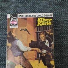 Cómics: NOVELA DEL OESTE COLECCIÓN BRAVO OESTE Nº1127 UNA ESQUELA DE CINCO DOLARES. SILVER KANE. Lote 210706790