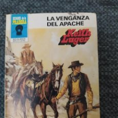 Cómics: NOVELA DEL OESTE COLECCIÓN HEROES DE LA PRADERA Nº670 LA VENGANZA DEL APACHE. KEITH LUGER. Lote 210706816