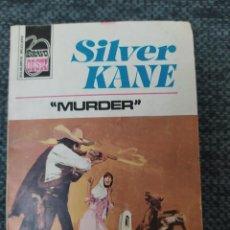 "Cómics: NOVELA DEL OESTE COLECCIÓN BRAVO OESTE Nº 843 ""MURDER"" SILVER KANE. Lote 210706825"