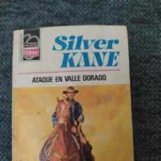 Cómics: NOVELA DEL OESTE COLECCION BRAVO OESTE Nº 836 ATAQUE EN VALLE DORADO. SILVER KANE. Lote 210706832