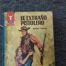 Cómics: NOVELA DEL OESTE COLECCION BÚFALO Nº721 EL EXTRAÑO PISTOLERO. SILVER KANE. Lote 210706882