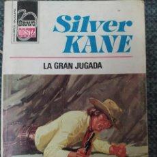 Cómics: NOVELA DEL OESTE COLECCION BRAVO OESTE Nº839 LA GRAN JUGADA. SILVER KANE. Lote 210706899