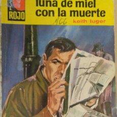 Cómics: PUNTO ROJO Nº 194. LUNA DE MIEL CON LA MUERTE. KEITH LUGER. BRUGUERA 1966. Lote 210781469
