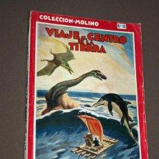 Cómics: VIAJE AL CENTRO DE LA TIERRA. JULIO VERNE. COLECCIÓN MOLINO Nº 13. MOLINO, 1948. ILUSTRA ALEX.. Lote 211680881