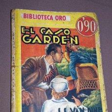 Cómics: PHILO VANCE: EL CASO GARDEN. S. S. VAN DINE. BIB. ORO AMARILLA Nº III-56. MOLINO, 1936. JAIME TOMÁS. Lote 211706933