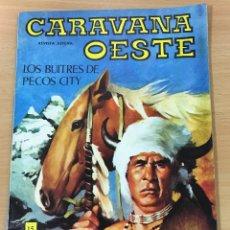 Cómics: CÓMIC PULP - SERIE CARAVANA DEL OESTE - LOS BUITRES DE PECOS CITY. EDITORIAL VILMAR (1973). Lote 211847263