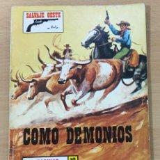 Cómics: CÓMIC PULP - SERIE SALVAJE OESTE - COMO DEMONIOS. PRODUCCIONES EDITORIALES (1976). Lote 211847597