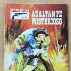 Cómics: CÓMIC PULP - SERIE SALVAJE OESTE - ASALTANTE MISTERIOSO. PRODUCCIONES EDITORIALES (1976). Lote 211847855