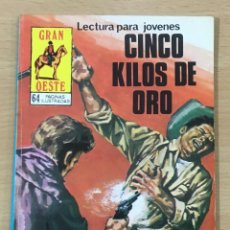 Cómics: CÓMIC PULP - SERIE GRAN OESTE - CINCO KILOS DE ORO. PRODUCCIONES EDITORIALES (1980). Lote 211848108