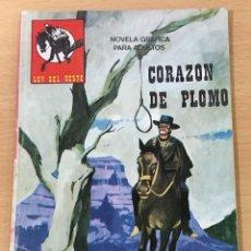 Cómics: CÓMIC PULP - SERIE LEY DEL OESTE - CORAZÓN DE PLOMO. Lote 211875093