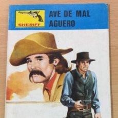 Cómics: CÓMIC PULP OESTE - COLECCIÓN SHERIFF - AVE DE MAL AGÜERO. EDITORIAL VILMAR (1985). Lote 211875612