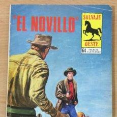 Cómics: CÓMIC PULP - SERIE SALVAJE OESTE - EL NOVILLO. PRODUCCIONES EDITORIALES (1980). Lote 211876276
