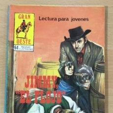 Cómics: CÓMIC PULP - SERIE GRAN OESTE - JIMMY EL FLOJO. PRODUCCIONES EDITORIALES (1980). Lote 211876681