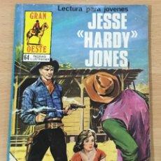 Cómics: CÓMIC PULP - SERIE GRAN OESTE - JESSE HARDY JONES. PRODUCCIONES EDITORIALES (1980). Lote 211877033