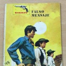 Cómics: CÓMIC PULP OESTE - COLECCIÓN SHERIFF - FALSO MENSAJE. EDITORIAL VILMAR (1972). Lote 211877617