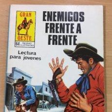 Cómics: CÓMIC PULP - SERIE GRAN OESTE - ENEMIGOS FRENTE A FRENTE. PRODUCCIONES EDITORIALES (1981). Lote 211877743