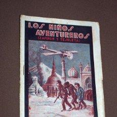 Cómics: LOS NIÑOS AVENTUREROS, ZAPIRÓN Y TEJOLETA Nº 4. PEDRO NIMIO (JOAN FRANCESC BOSCH PONS). GUERRI, 1923. Lote 211902276