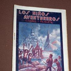 Cómics: LOS NIÑOS AVENTUREROS, ZAPIRÓN Y TEJOLETA Nº 6. PEDRO NIMIO (JOAN FRANCESC BOSCH PONS). GUERRI, 1923. Lote 211902546